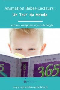 Contenus pour animations Bébé-Lecteurs sur le Tour du Monde