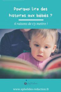 6 raisons de lire des histoires aux bébés