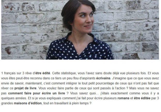 Exemple page à propos Cécile Hennerolles